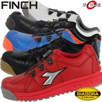ディアドラ 安全靴 スニーカー finch JSAA規格 A種認定